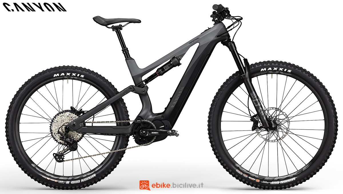 Una ebike Canyon Spectral:ON CF 7.0 WMN 2020