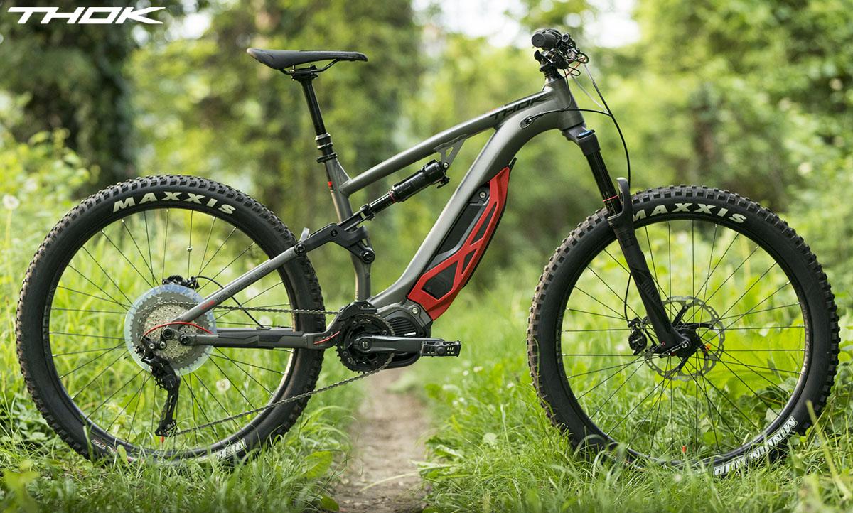 Una bici ebike MIG-R 2020