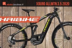 Haibike Xduro AllMtn 3.5: eMTB da all mountain dual battery