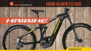 Haibike Xduro AllMtn 3.5 2020: la nuova e-bike all mountain senza compromessi