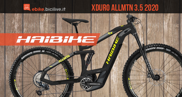 Haibike Xduro AllMtn 3.5: eMTB da all mountain dual battery