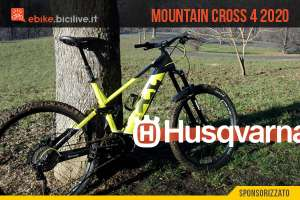 Husqvarna Mountain Cross 4, una eMTB da all mountain