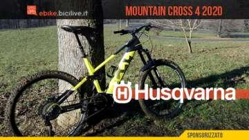 Husqvarna Mountain Cross 4, una eMTB da all mountain