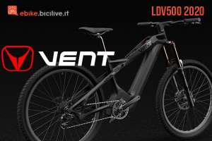 La nuova mtb elettrica ricca di tecnologia Vent LDV500