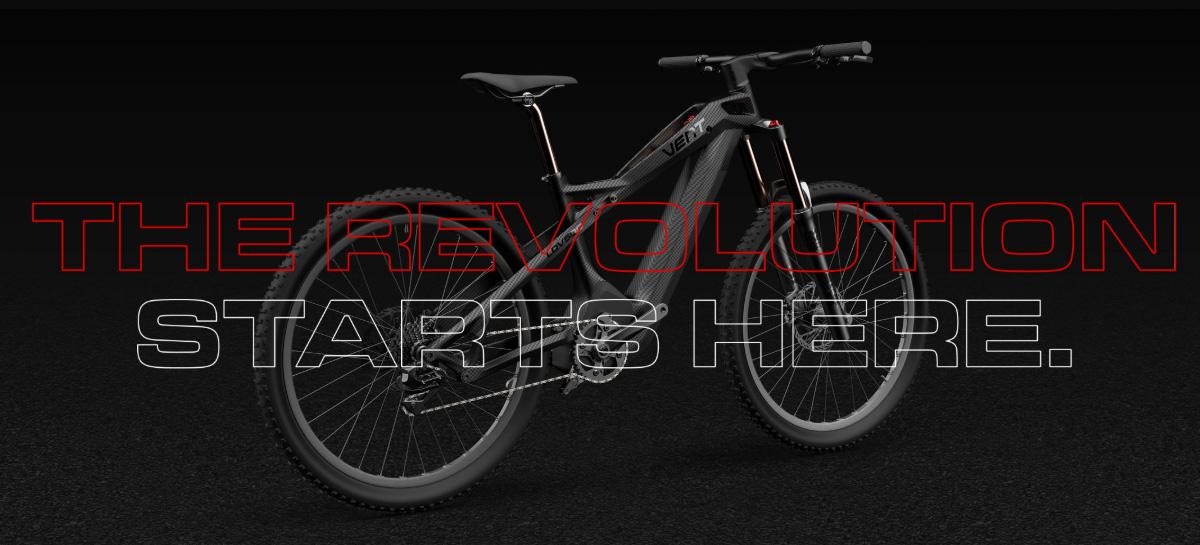 Lo slogan della Vent LDV500 Revolution Starts Here