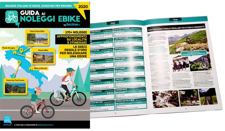 La Guida ai noleggi ebike 2020 di BiciLive.it