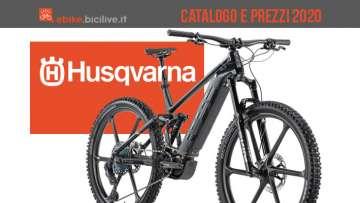 Husqvarna ebike 2020: catalogo e listino prezzi bici elettriche