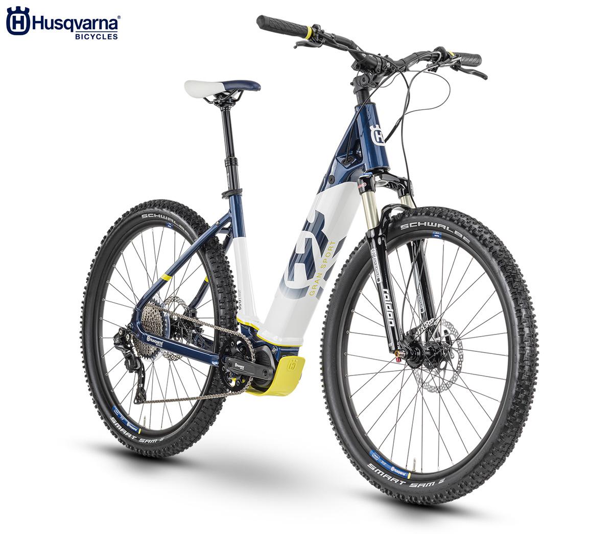 La bici elettrica Husqvarna Gran Sport 6 2020