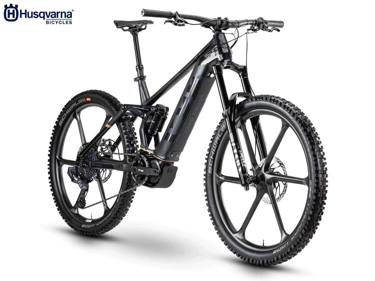 La nuova mountain bike elettrica biammortizzata Husqvarna Hard Cross X (HCX) 2020
