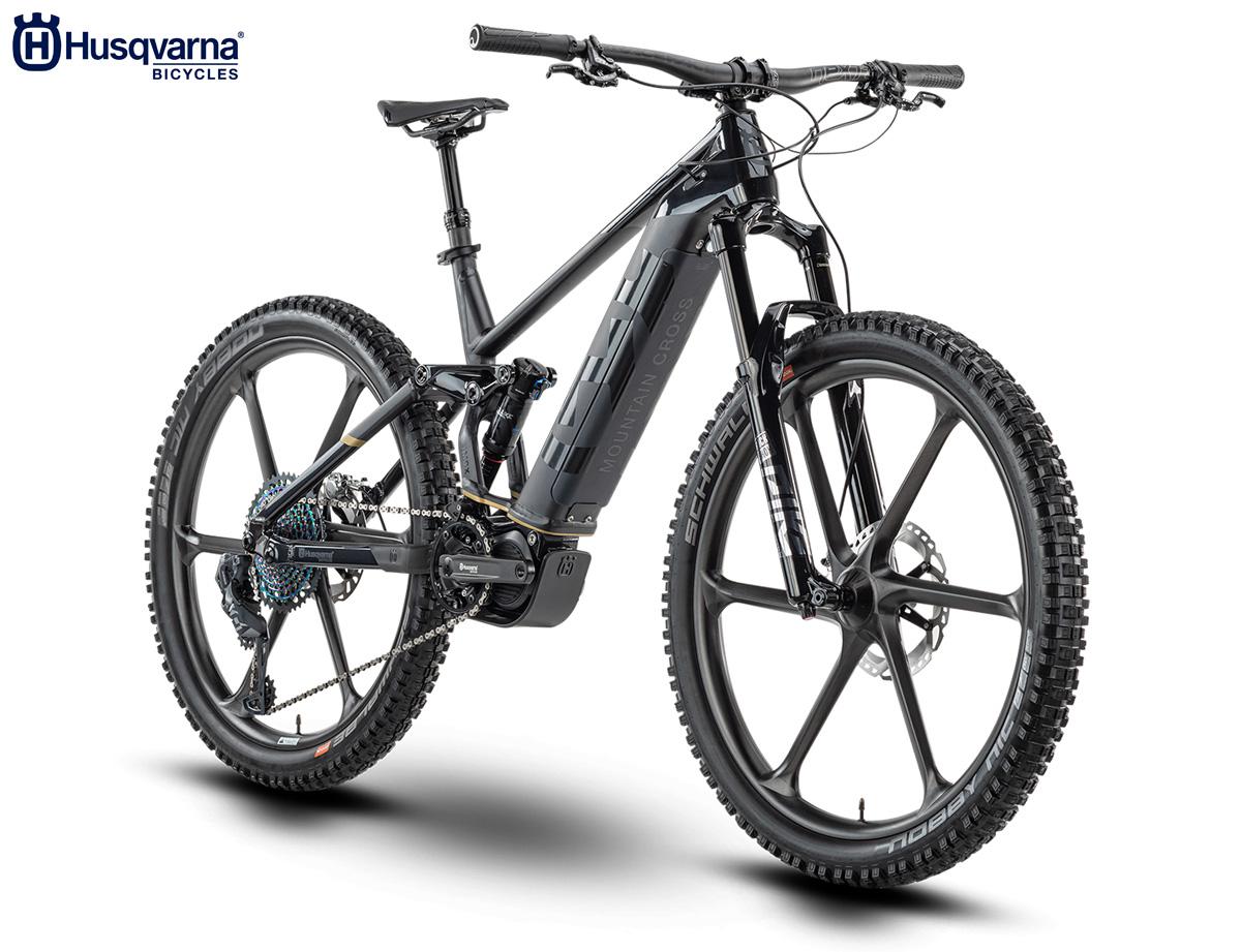 La nuova e-MTB full suspension Husqvarna Mountain Cross X (MCX) 2020