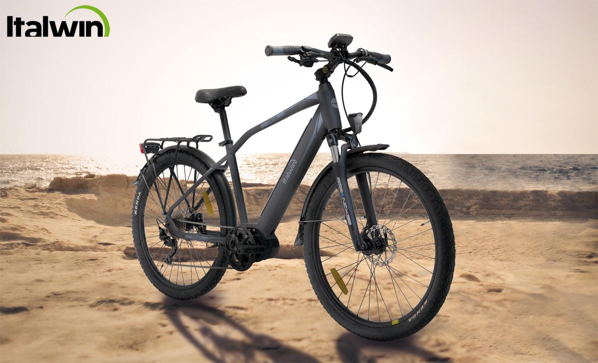 Una ebike Italwin Trail Ultra 2020 in versione da uomo