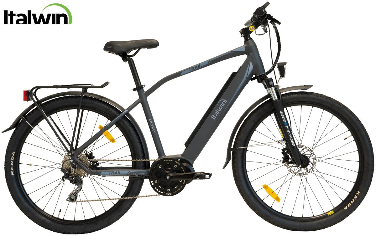 Una e-bike da città Italwin Trail Ultra 2020 in versione da uomo