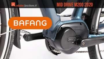 Bafang M200 2020: nuovo motore centrale elettrico economico