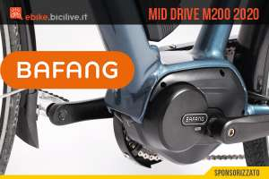 Il nuovo motore centrale Bafang M200 2020