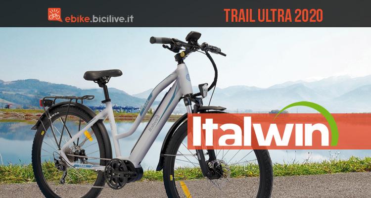 Italwin Trail Ultra 2020: bici elettrica urbana sportiva