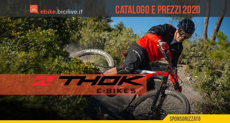 Tutte le nuove ebike 2020 di Thok e Ducati: catalogo e listino prezzi