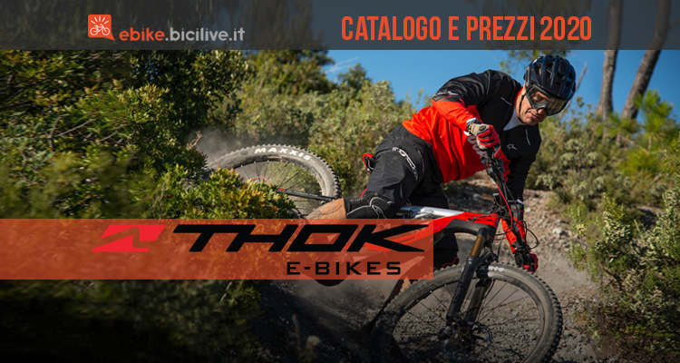 Catalogo e listino prezzi 2020 Thok e Ducati powered by Thok