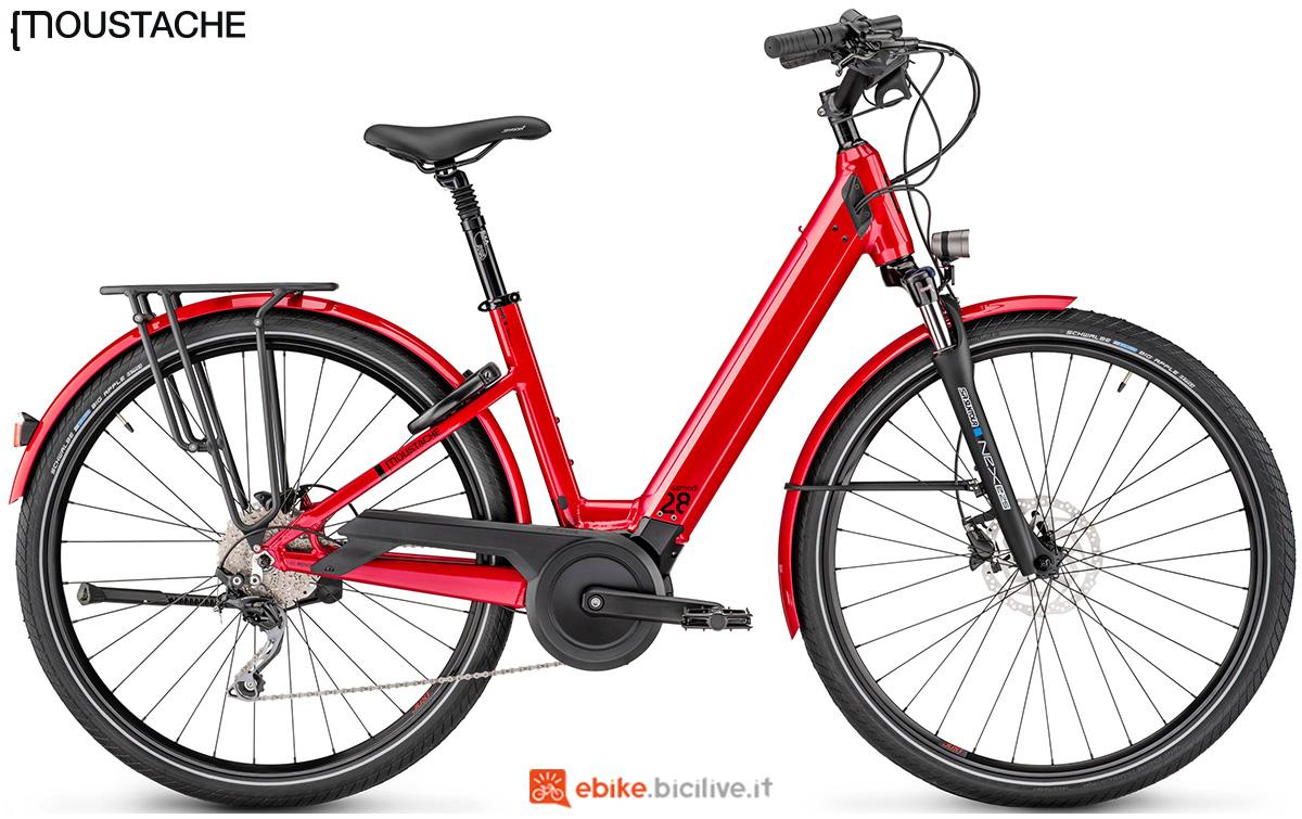 Una bici elettrica Moustache Samedi 28.5 Open
