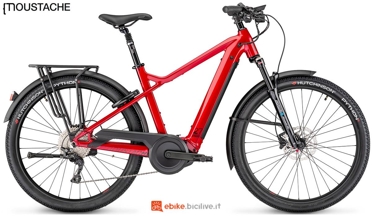 Una ebike a pedalata assistita tache Samedi 27 Xroad 7