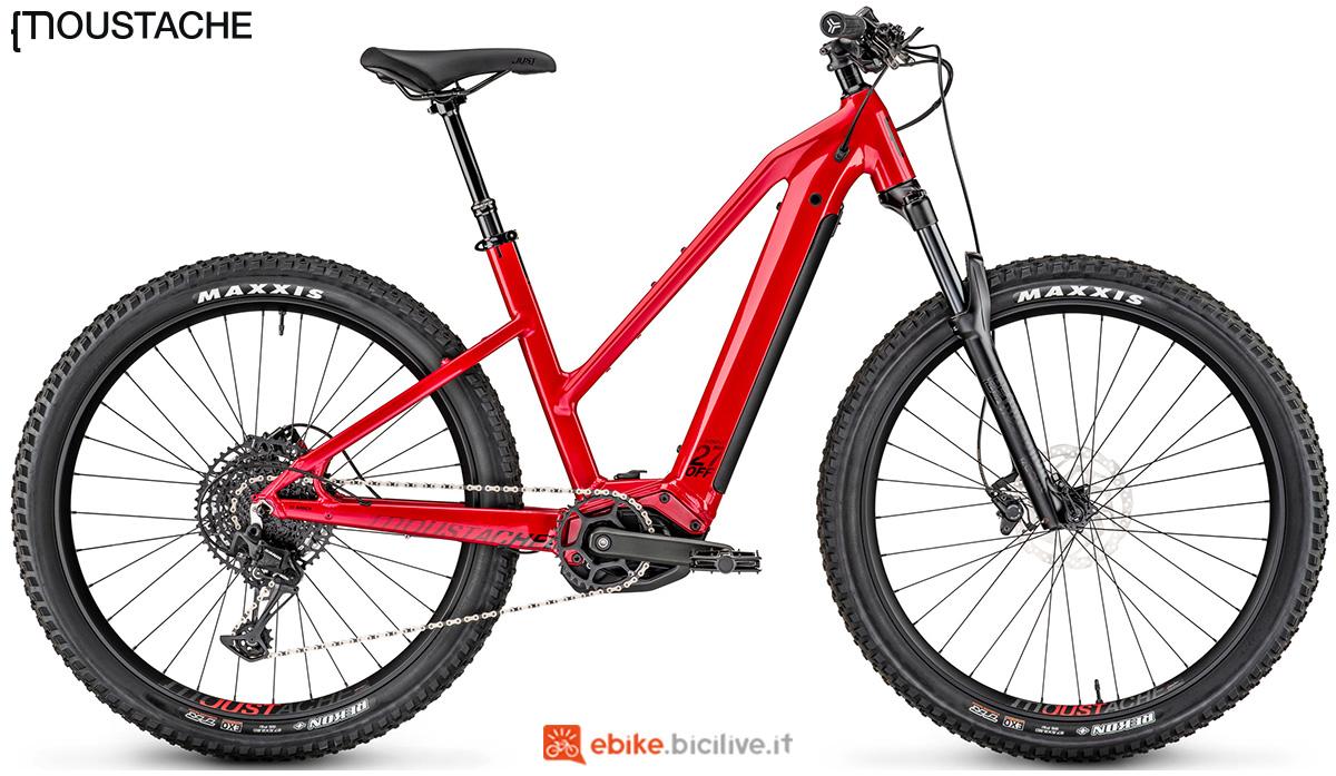 Una mountain bike elettrica a pedalata assistita Moustache Samedi 27 OFF 4 Open