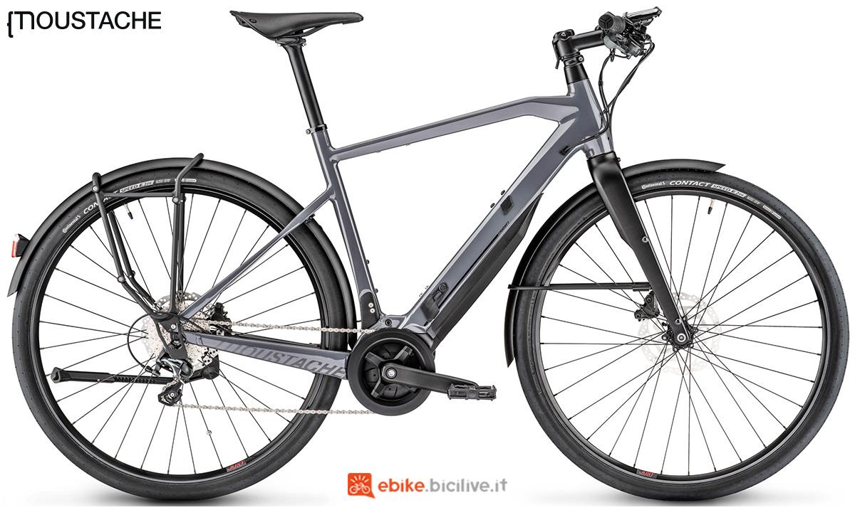 Una bicicletta elettrica Moustache Friday 28.5