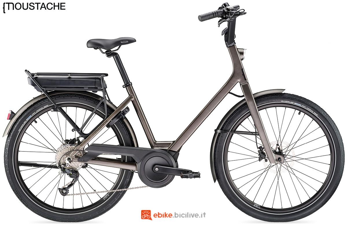 Una bici elettrica Moustache Lundi 26.1