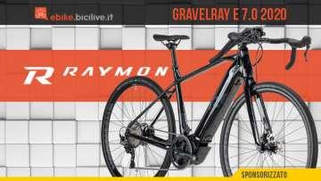 R Raymon GravelRay E 7.0 2020: una e-Gravel curiosa e audace