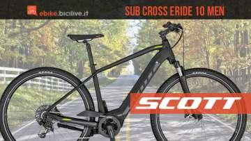 Una e-Trekking Scott Sub Cross eRide 10 2020
