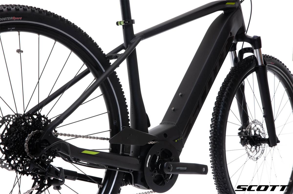 Dettaglio della bicicletta a pedalata assistita Scott Sub Cross eRide 10 Men 2020