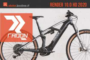 Radon Render 10.0 HD: eMTB full suspension da trail