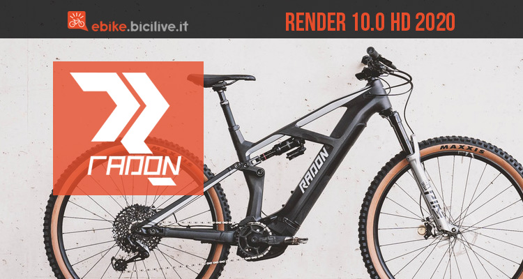 Radon Render 10.0 HD: eMTB full suspension da trail