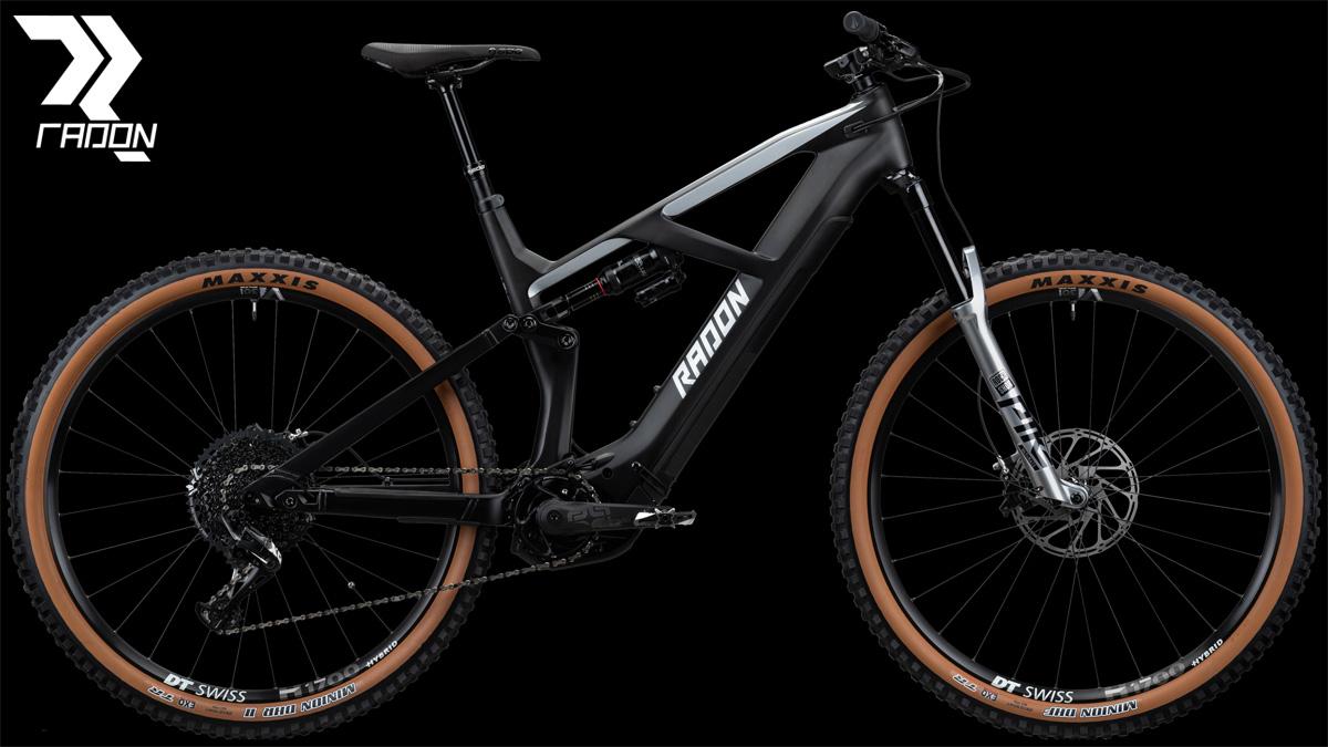Una mountain bike elettrica a pedalata assistita Radon Render 10.0 HD 2020