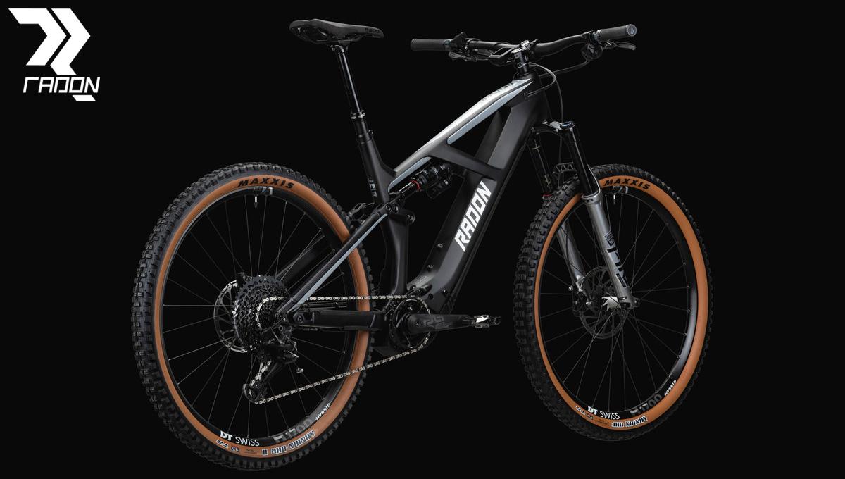 Una mtb elettrica a pedalata assistita Una eMTB a pedalata assistita Render 10.0 HD dal catalogo 2020 Radon