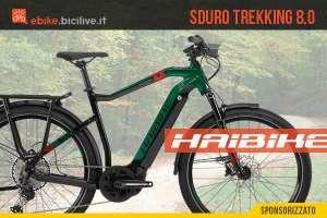 Haibike SDURO Trekking 8.0: la nuova ebike per il commuting e le gite fuori porta