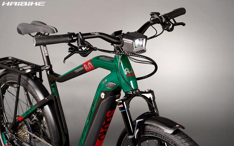 Una ebike a pedalata assistita Haibike SDURO Trekking 8.0 2020
