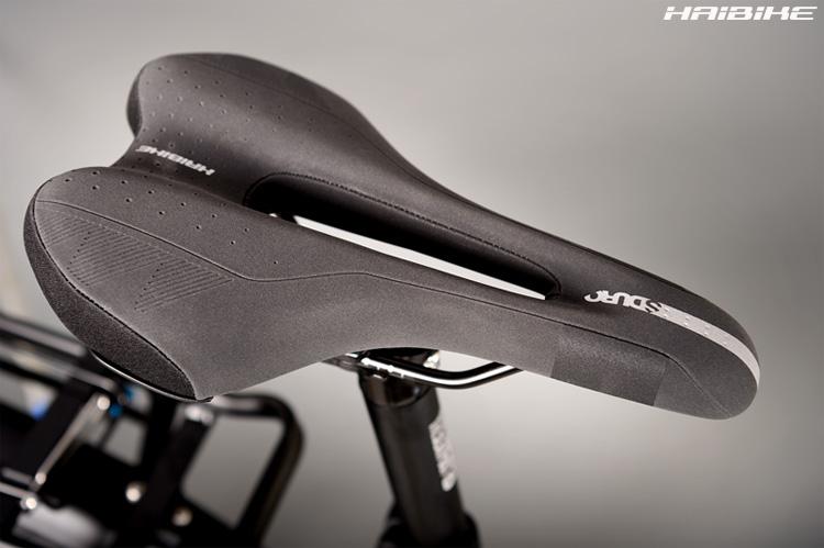 La sella in dotazione alla e-bike Haibike SDURO Trekking 8.0 2020