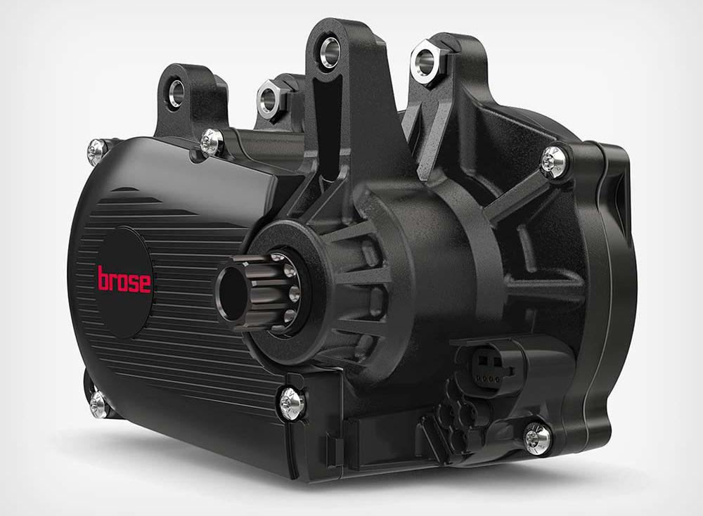 Un motore elettrico per eMTB Brose Drive S Mag
