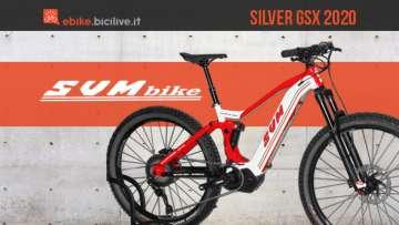 Copertina articolo ebike silver gsx 2020 della svm bike
