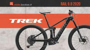 Copertina articolo bici trek rail 2020