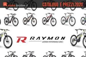 copertina articolo listino prezzi della r raymon 2020