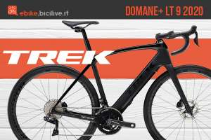 La nuova Trek Domane+ LT 9 2020: e-bike leggera con motore Fazua