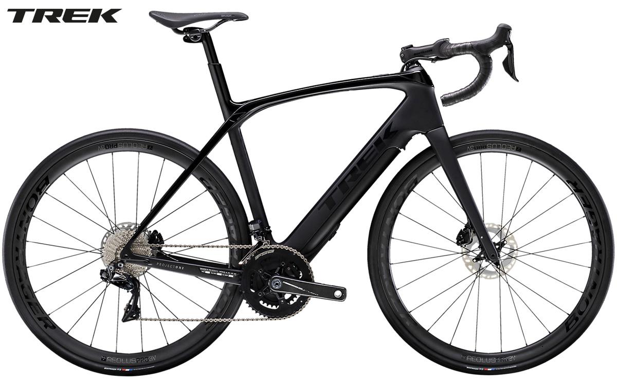 Una bici elettrica a pedalata assistita da strada Trek Domane+ LT 9 2020