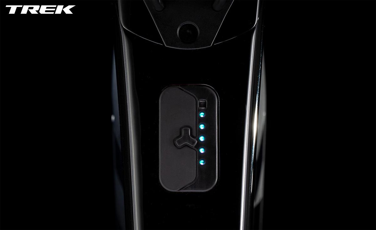 Spie del livello di carica batteria sulla Trek Domane+ LT 9 2020