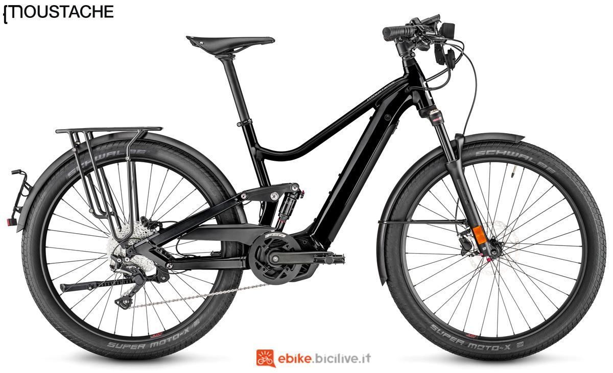 Una bici elettrica Moustache Friday 27 FS SPEED gamma 2020