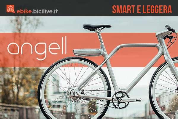 Angell: la e-bike urban molto leggera e molto smart