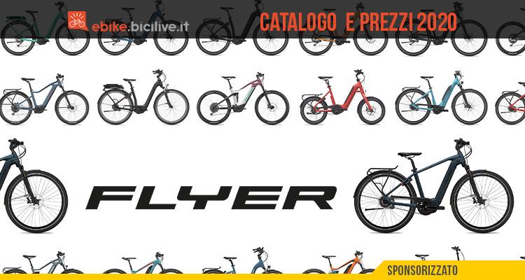 Il catalogo e il listino prezzi delle nuove e-bike FLYER 2020