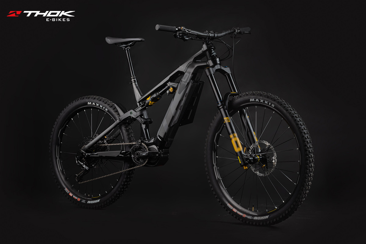 bici thok TK01Ltd nera di trequarti