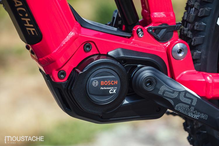 Il motore Bosch Performance CX equipaggiato sulla Moustache Samedi 29 Game 2020
