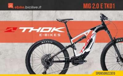 Thok E-Bikes salta nel futuro con i nuovi modelli 2021 MIG 2.0 e TK01