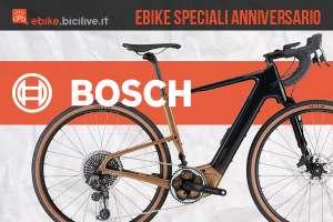 Modelli ebike speciali in occasione dell'anniversario 2020 dell'azienda Bosch